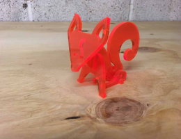 Laser_Cutting-Model_Foxes_perspex